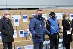 În lupta cu COVID-19, Uniunea Europeană și OMS au suplimentat dotarea spitalelor cu echipamente medicale în valoare de 685.400 EUR