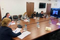Ședința de lucru cu reprezentanții sistemului de sănătate din stânga Nistrului privind vaccinarea populației împotriva COVID-19