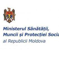 Anunt – Ministerul Sănătății, Muncii și Protecției Sociale comunică inițierea elaborării proiectului Hotărîrii de Guvern…