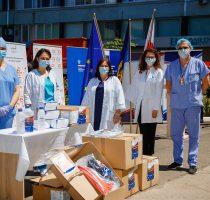 Новая партия гуманитарной помощи из Польши для Республики Молдова в борьбе с инфекцией COVID-19