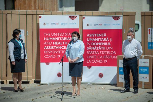 OMS și USAID au livrat frigidere de laborator și distilatoare de apă  rețelei naționale de laboratoare