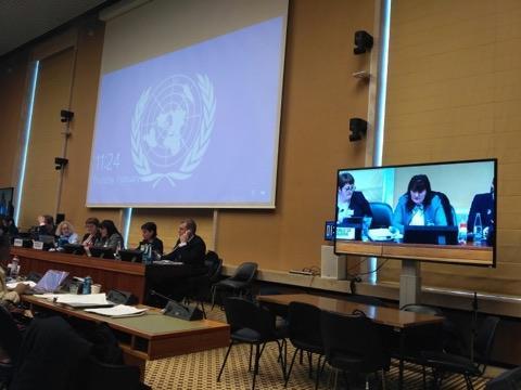 Prezentarea Raportului privind eliminarea tuturor formelor de discriminare față de femei, în cadrul celei de-a 75-a sesiuni a Comitetului ONU