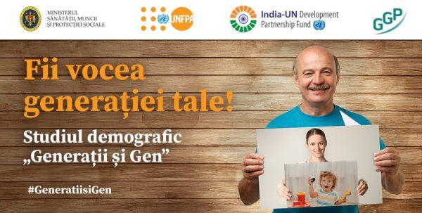 Fii vocea generației tale! A fost reluat procesul de colectare a datelor în cadrul celui mai complex studiu demografic – Generații și Gen