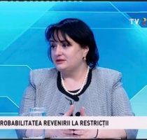 """Viorica Dumbrăveanu la emisiunea """"Punctul pe Azi"""""""
