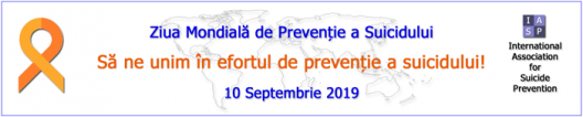10 septembrie – Ziua mondială pentru prevenirea suicidului