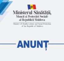 Anunț privind concursul pentru finanţarea din bugetul de stat a proiectelor desfășurate de Comitetele sectoriale pentru formarea profesională, pentru anul 2019