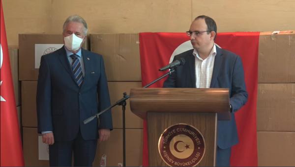 Un alt lot de echipamente de protecție medicală au fost donate Republicii Moldova de către Guvernul Turciei