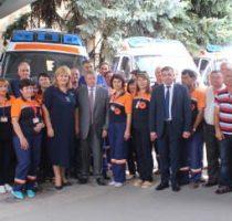 Alte 17 ambulanțe noi au fost repartizate astăzi în localitățile din țară