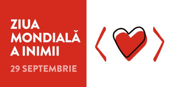 Ziua mondială a inimii 2020 – Folosește-ți inima pentru a învinge bolile cardiovasculare