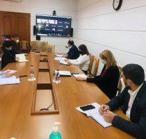 """Рабочее заседание со Всемирным Банком по вопросу дополнительного финансирования в рамках проекта """"Чрезвычайное реагирование на COVID-19 в Республике Молдова"""""""
