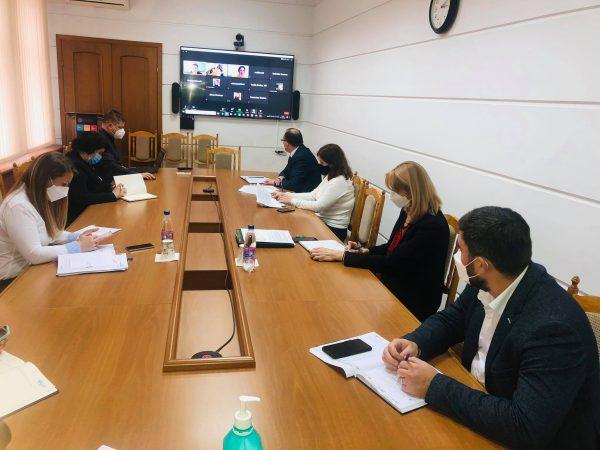 """Ședința de lucru cu Banca Mondială privind finanțarea adițională în cadrul proiectului """"Răspuns de urgență la COVID-19 în Republica Moldova"""""""