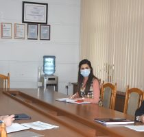 Виорика Думбрэвяну и Представитель ЮНФПА в Молдове, Нигина Абасзада, обсудили меры поддержки населения в период пандемии и задачи в сфере демографии и репродуктивного здоровья