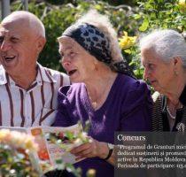 Ministerul Sănătății, Muncii și Protecției Sociale a dat start înscrierilor pentru Programul de Granturi mici în domeniul îmbătrânirii active, ediția 2018