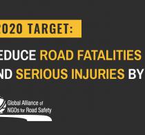 """Ziua mondială a comemorării victimelor traficului rutier """"Obiectivul 2020: reducerea fatalităților rutiere și a accidentelor grave cu 50% """""""
