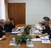 Confederația Națională a Sindicatelor în vizită la Ministerul Sănătății, Muncii și Protecției Sociale