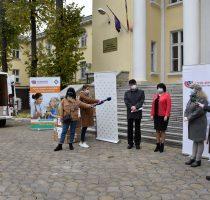 При поддержке Чехии учреждения длительного нахождения в Республике Молдова получили средства индивидуальной защиты