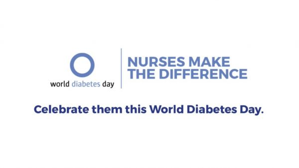 """""""Diabetul zaharat – diferența o fac nursele"""" este genericul Zilei Mondiale a Diabetului în anul 2020"""