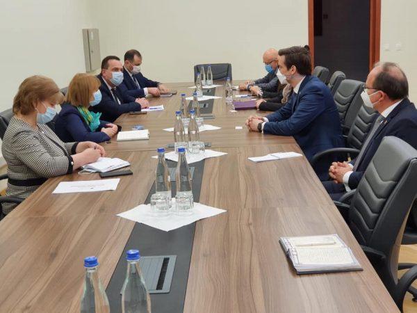 Schimb de experiență între Republica Moldova și România privind organizarea campaniei de vaccinare anti-COVID-19