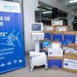 Аппараты вентиляции лёгких и кардиомониторы для пациентов с COVID-19 — одно из крупнейших пожертвований Европейского союза и ВОЗ