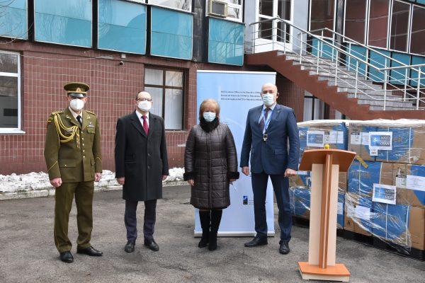 """Costume de protecție donate lucrătorilor medicali din cadrul Spitalului de Copii """"Valentin Ignatenco"""""""