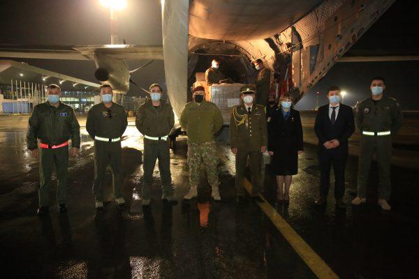 În Republica Moldova a ajuns cea de-a doua tranșă de ajutor umanitar din partea NATO