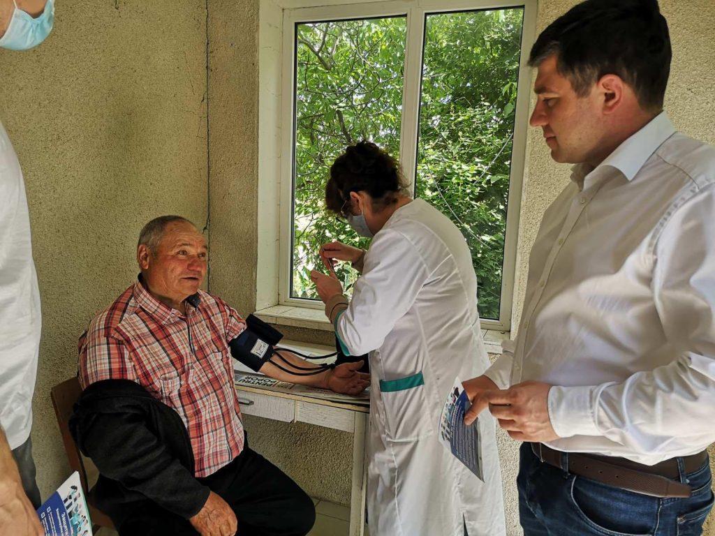 ВЧимишлийском районе прошел марафон вакцинации откоронавируса. Прививки делали мобильные бригады врачей