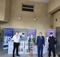 Guvernul României a livrat Republicii Moldova un alt lot de 100.800 de doze de vaccin împotriva COVID-19