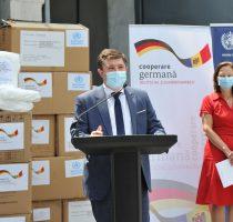Pandemia COVID-19: un nou lot de ajutor umanitar din partea Germaniei și OMS a ajuns la Chișinău
