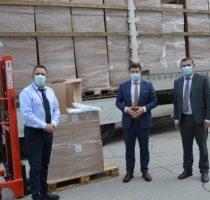 Mediul de afaceri a oferit o donație de echipamente de protecție, Agenției Naționale pentru Sănătate Publică