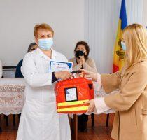 108 genți medicale de urgență oferite sistemului medical din nordul Republicii Moldova