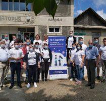 Maratonul vaccinării de la casă la casă. 15 echipe mobile au informat și vaccinat cetățenii din  raioanele Briceni şi Edineț