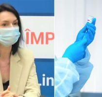 """Angela Paraschiv: """"Tulpina Delta este mai contagioasă cu 60% decât varianta Alpha. Vaccinarea este cea mai eficientă măsură de protecție"""""""