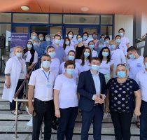 Campania de vaccinare împotriva COVID-19 ia amploare. Acțiuni de informare și imunizare au fost organizate în raioanele Briceni, Căușeni și UTA Găgăuzia