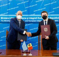 Acordul în domeniul securității sociale dintre Republica Moldova și Republica Elenă, semnat astăzi la Chișinău