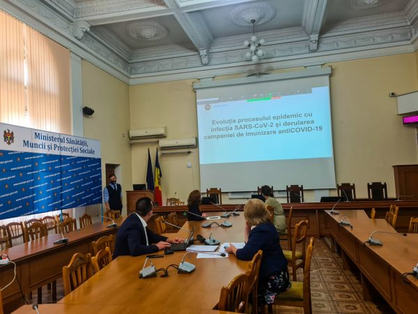 Conducerea Ministerului Sănătății a avut o întâlnire cu reprezentanții APL privind progresul campaniei de vaccinare împotriva COVID-19 la nivel local
