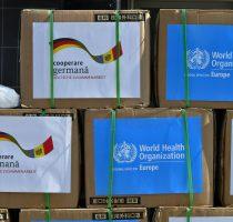 COVID-19: Un milion de măști donate de Germania și OMS
